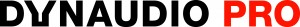 Dynaudio Logo PRO black 2015